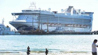 El Star Princess volvió a dejar su sello durante la visita realizada a las aguas del Golfo Nuevo.