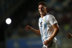 Hat-trick de Adolfo Gaich para Argentina ante Venezuela: el pibe de San Lorenzo se despertó... ¡y de qué manera!
