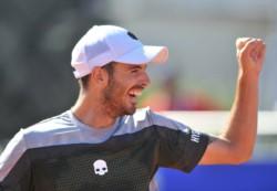 Juan Ignacio Londero (112) consiguió su primera victoria ATP.