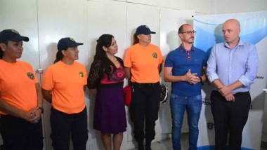 El equipo de voluntarios del CEPA recibieron diplomas por su trabajo.