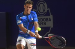Schwartzman derrotó a Giannessi en su debut en el nuevo ATP de Córdoba y se sumó a Delbonis, Londero y Cachín.