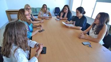 La reunión organizativa del encuentro se desarrolló en las instalaciones de CORFO Chubut.