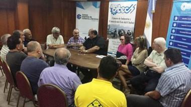 En el encuentro participó la directora de Turismo local, Mónica Montes Roberts y miembros del ENTRETUR.