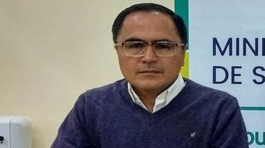 Jorge Elías, Director del Hospital de Esquel.