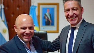 El intendente Maderna fue anunciado para el acto de lanzamiento del frente que lideran Arcioni y Sastre.