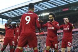 Liverpool despachó a Bournemouth y gobierna la Premier con 3 puntos de ventaja sobre Manchester City.