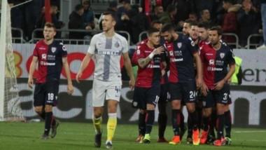 Tremenda victoria del Cagliari sobre Inter de local que se alejan de los puestos de abajo.