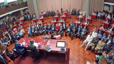 A la hora de la transmisión del discurso del gobernador, la Televisión Pública de la provincia decidió cortar la cadena nacional de Macri.