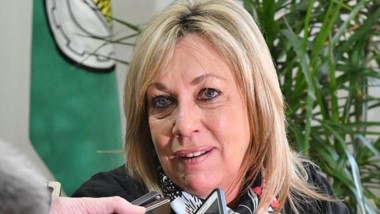 Rossana Artero, intendenta de Rawson.