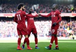 Los goles de los Reds los marcaron Firmino(x2) y Sadio Mané(x2), mientras Westwood y Gudmundsson anotaron para el visitante.