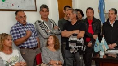 Vecinos de Rawson se reunieron con la intendente Rossana Artero.