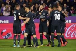 El Real Madrid se toma un respiro con una goleada en Valladolid.
