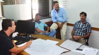 El Comité de Emergencia se reunió ayer ante los anuncios de intensas lluvias.