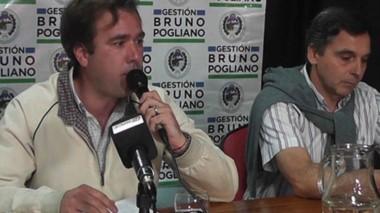 Bruno Pogliano lleva como primer concejal a Fabián Rudolph.