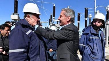 El gobernador puso en marcha desde Comodoro Rivadavia la obra para la Estación Transformadora.