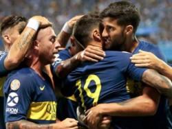 Los goles de Marco Pérez e/c, Benedetto y Zárate llegaron en una ráfaga de doce minutos.