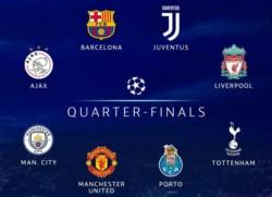 Estos son los clasificados a los Cuartos de Final de la Champions League.