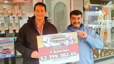El pozo acumulado del sorteo de La Quiniela Poceada de febrero quedó en Puerto Madryn.