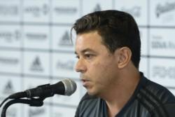Gallardo afirmó que River sufrió fallos arbitrales en contra en estos últimos partidos.