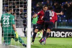 Victoria de los locales en el Arena Cerdeña con goles de Joao Pedro y Ceppitelli.