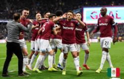 West Ham de Pellegrini lo da vuelta en la agonía y triunfa ante Huddersfield.