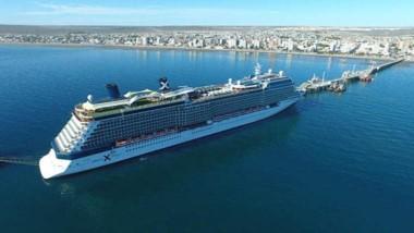 La temporada de Cruceros aportó el turismo extranjero en Madryn.