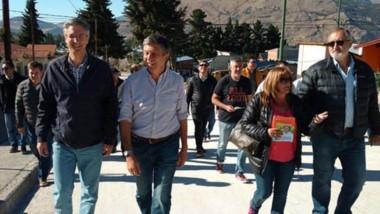 Menna estuvo en Esquel junto a Fernanda Abdala y Ongarato.