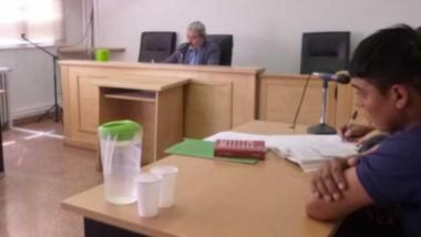 El acusado fue asistido por el abogado Marcos Ponce, quien pidió que no sea de más de un mes la prisión.
