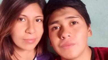 Andrea Mónica Tacumán y Luis Currumil. La víctima y  el presunto autor.