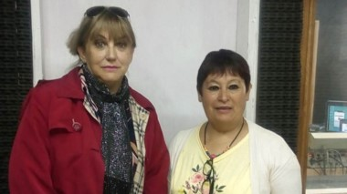 Elba Willhuber y Graciela Avilés brindaron detalles de las  actividades.