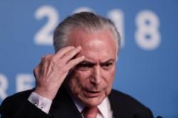 Las autoridades de Brasil arrestaron al exmandatario Michel Temer por su relación con el escándalo de corrupción del Lava Jato.