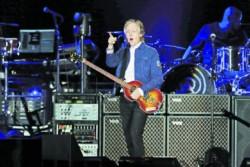 Paul McCartney sigue imbatible al paso del tiempo.