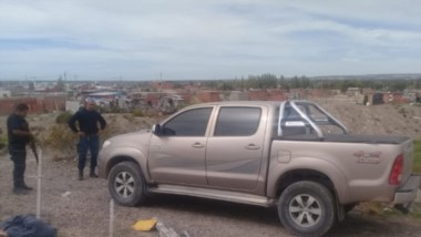 La camioneta que manejaba el precandidato a gobernador apareció horas después del misterioso robo.