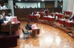 Recinto. Ayer se desarrolló una nueva sesión en La Legislatura con la presentación de varios proyectos.