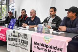 Con la presencia de Valentín Zomoza, presidente del Automoto Club Puerto Madryn, autoridades y pilotos, ayer se presentó la 1ra fecha del Safari.