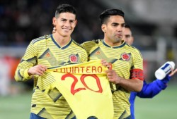 Los cafetaleros le mandaron un mensaje de apoyo a Quintero que se perderá la Copa América por lesión.