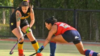 """Patoruzú y Puerto Madryn RC se midieron ayer en  cancha de las """"Indias"""" en Intermedia y Primera División."""