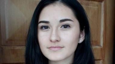Florencia Rebolledo Balcón, alumna de 4to año de la Escuela N° 738.