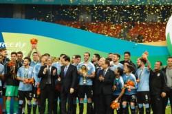 Diego Godín hace historia con Uruguay: es el jugador con más partidos disputados con la camiseta celeste.