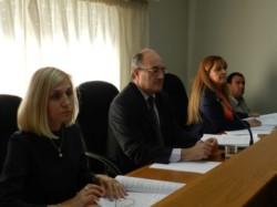 El Tribunal está integrado por los jueces Patricia Reyes, Leonardo Pitcovsky y Stella Eizmendi