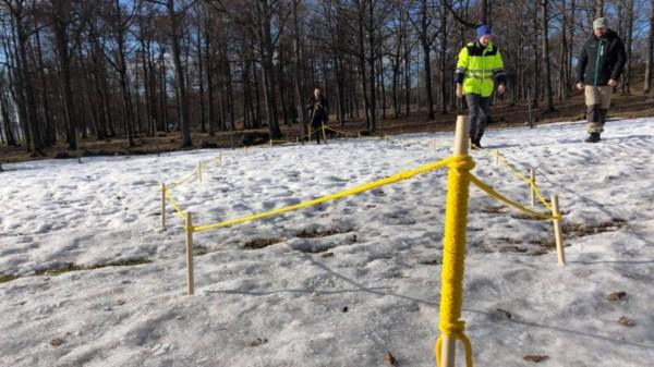 El casco de un barco vikingo fue hallado enterrado en un parque al sureste de Oslo, anunció este lunes un grupo de arqueólogos.