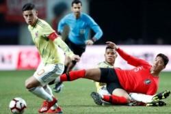 El seleccionador Queiroz perdió el segundo examen ante Corea, y Luis Diaz marcó su primer gol con la Selección Colombia.