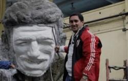 """Carlos Trillo, dirigente de River: """"El 8 de diciembre comenzó el proyecto de hacer la estatua de Gallardo""""."""