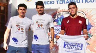 Los jugadores de Racing de Trelew tomarán parte de la campaña.