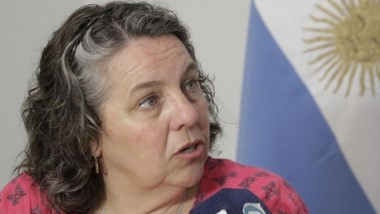 Ministro de Familia y Promoción Social del Chubut, Valeria Saunders.