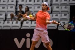 Pella lo hizo: Se metió en la final del ATP 250 de San Pablo y va por su primer título.