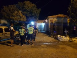 """El barrio """"Policial I"""" quedó conmocionado por el violento hecho. (Foto: Ramiro Outeda)"""