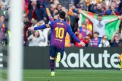Con el partido ante el Espanyol, Messi superó a Iniesta en cantidad de presencias con la camiseta del Barcelona.