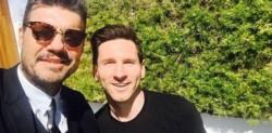 Tinelli le manifestó su apoyo al futbolista luego de que revelara la dolorosa pregunta que le hizo Thiago, el mayor de sus tres nenes.
