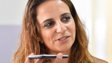 Alcalá, candidata a concejal.